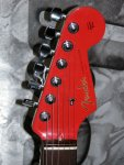 Fender Strat CS Custom Fiesta Red